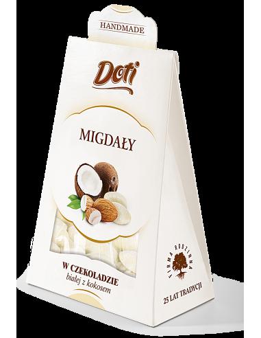 Migdały w białej czekoladzie z...