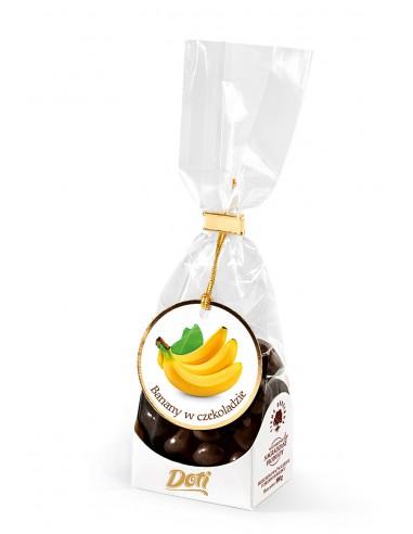 Banany w czekoladzie mlecznej -...