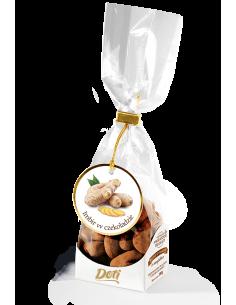 Imbir w czekoladzie z kakao...
