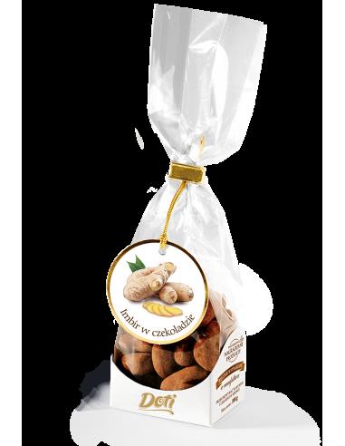 Imbir w czekoladzie z kakao - torebka...