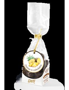 ananas w czekoladzie