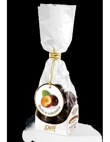 Śliwki w czekoladzie - torebka...