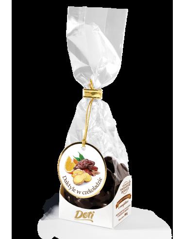 Daktyl w czekoladzie z imbirem i...