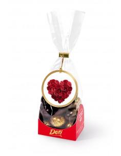 Złote Migdały w czekoladzie...