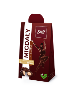 FIT Migdały w czekoladzie...