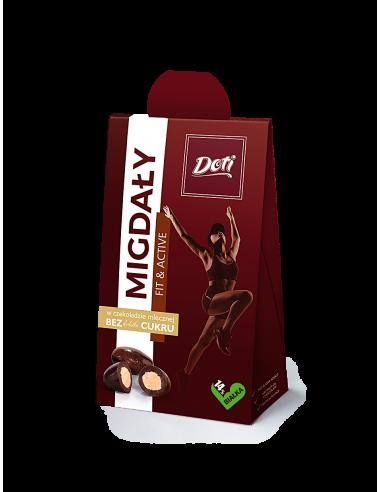FIT Migdały w czekoladzie mlecznej...