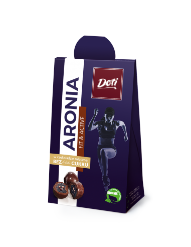 FIT Aronia w czekoladzie mlecznej bez...
